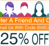 25% Discount - Refer Your Friend