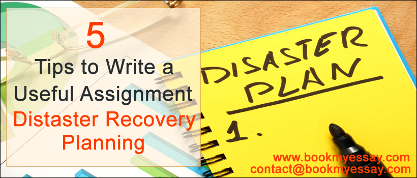 disaster recovery planning essay