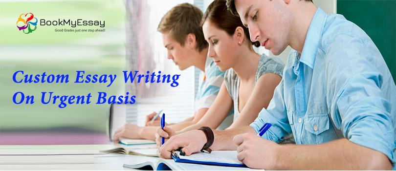 Urgent custom essays