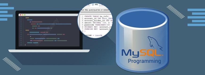 MySQL Programming Assignment Help