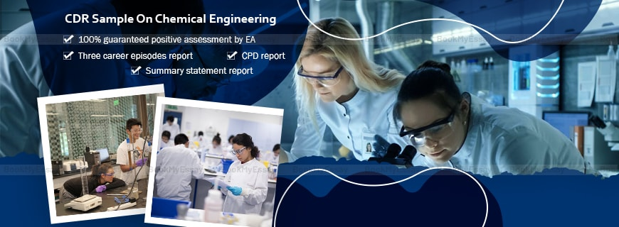 CDR Sample on Chemical Engineering